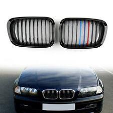 Fence Calandre ABS M Color Gloss Black Mesh Pour BMW E46 4D 98-2001 3 Series BS5