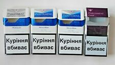 Empty Different Collector's Cigarette Packs PARLIAMENT from Ukraine NO TOBACCO