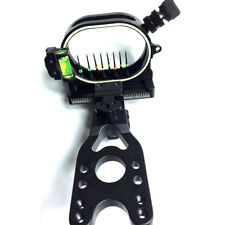 Archery 0.019'' 8 Pin Fiber Optic Arrow Bow Sight Compound Bow Shooting