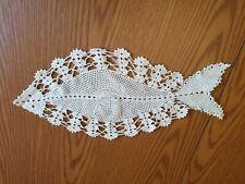 crochet dollies (4 in lot) vintage