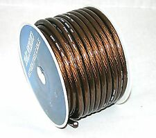 IMC AUDIO 4 GAUGE BLACK POWER WIRE 100 FT ROLL Priority Shipping