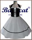 50er ans robe de Bal vintage mode JUPON ROBE Robe de mariée NEUF 34-48 c801s