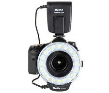 Makro Ringblitz, Ringleuchte von Meike für Pentax SLR Kameras Blitz und Dauerlic