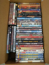 38 DVD Lot - 24 NEW 14 Used All Genre Movie Bulk Wholesale Action Comedy Tested