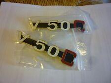 Coppia scritte V50c fianchetti Moto Guzzi