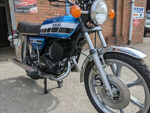 1977 Yamaha RD400C, matching numbers, carefully tastefully restored classic