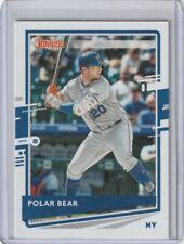 Pete Alonso 2020 Donruss Polar Bear Nickname Variation New York Mets #204