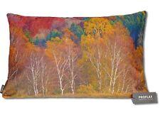"""Proflax Dekokissen Herbst """"Autunno"""" 40x60 cm Bäume Fotodruck mit RV"""