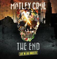 Motley Crüe The End Live in Los Angeles 2 LP 180 Grams Vinyl DVD