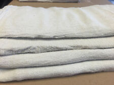1000 PCS INDUSTRIAL COMMERCIAL  SHOP RAGS/ CLEANING TOWEL WHITE