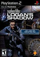 PS2 Black Label SYPHON FILTER LOGAN'S SHADOW (Sony PlayStation 2, 2010)