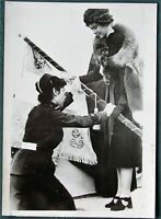 Princess Frederica of Greece & National Youth Org orig 1930s French press photo