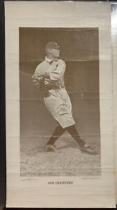 Sam Crawford Baseball Magazine M113 Poster Print Photo