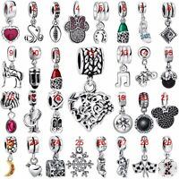 Fashion Charms Pendants Bead Jewelry Fit European 925 Silver Bracelets Necklace