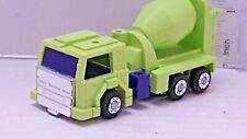 Vintage 1980-1984 Transformers G1- MIXMASTER - Devastator -  Cement Truck