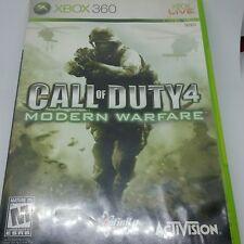 Call of Duty 4 Modern Warfare Xbox 360 Live Activision