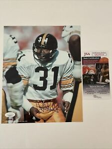 Donnie Shell Signed 8 x 10 Photo JSA COA Pittsburgh Steelers ProLook