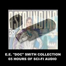 E. E. 'DOC SMITH' AUDIOBOOKS. ENJOY 65 HRS OF SCI-FI IN YOUR CAR OR AT HOME!