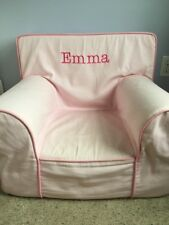 "Pottery Barn Kids Anywhere Chair ""Emma"" Pink Regular Size"