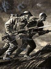PAINTINGS PORTRAIT PROPAGANDA BRITISH RUSSIAN WAR WWII ART POSTER PRINT LV3392