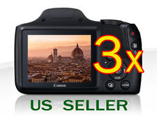 3x Clear LCD Screen Protector Guard Shield Film For Canon PowerShot SX520 H