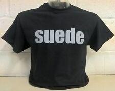 Suede Negro Camiseta