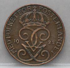 Zweden Sweden - 5 Ore 1922 - KM# 779.2