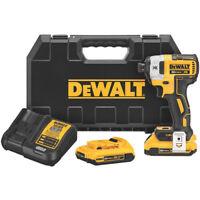 Dewalt DCF887D2 20-Volt 1/4-Inch 2.0Ah 3-Speed Brushless Impact Driver Kit