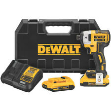 Dewalt DCF887D2 20-Volt 1/4-Inch 2.0Ah 3-Speed Brushless Impact Driver Kit