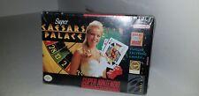 Nintendo SNES Game - Super Caesars Palace US & Boxed
