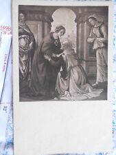 Visitation Heilige Engel Frau Kirche Gemälde Kunst Postkarte Ansichtskarte 3422