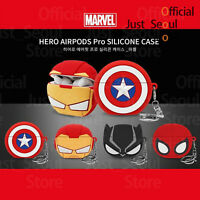 Official Disney Marvel 3D Soft Jelly Airpods Pro Case Cover+Keyring+Tracking