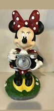 Disney Minnie Mouse Solar Light Garden Lawn Statue. New With Tags
