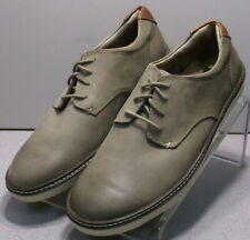 258358 MS30 Men's Shoes Size 8.5 M Taupe Leather Lace Up Johnston & Murphy