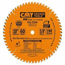"CMT P10060S 10"" x 60T Carbide Tipped ITK Plus Finish Slider Circular Saw Blade"