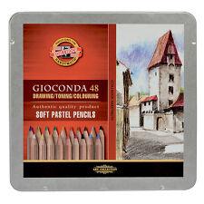 Koh-I-Noor Toison Dor 8829 Soft Artists Pastel Pencils Set of 48