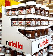 64x Ferrero Nutella Mini Display 25g Design Glas Thekendisplay