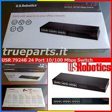 U.S. ROBOTICS® 7924B★ETHERNET 10100 Mbps SWITCH 24 PORTE  AUTO MDIMDIX RACK19