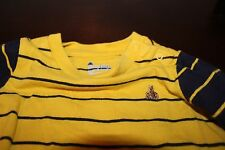 Baby Gap Brannans Favorites yellow and blue one piece long sleeve bear 12-18 mo
