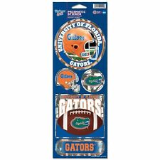 FLORIDA GATORS PRISMATIC HOLOGRAPH STICKER DECAL LABEL SHEET OF 5 NCAA