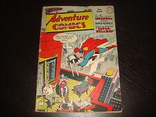 ADVENTURE COMICS #127 Golden Age Superboy  DC Comics 1948  VG+