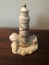 Vintage Porcelain Lighthouse Lenox Figurine Free Shipping