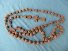 1 chapelet ancien rosaire LOURDES