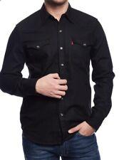Levi's Black Barstow Western Shirt BNWT