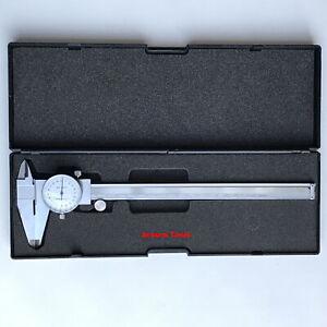 DIAL TYPE VERNIER CALIPER 200mm - NEW IN CASE.