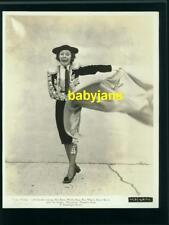 MARTHA RAYE VINTAGE 8X10 PHOTO WEARING BULLFIGHTER COSTUME 1938 TROPIC HOLIDAY