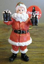 Coca-Cola Holiday Santa Claus Christmas Tree Ornament 2000 Limited Edition NIB