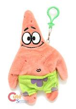"Nickelodeon Spongebob Patrick Plush Doll Key Chain 8"" Coin Bag"