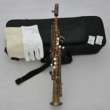 Prof. Antique Sopranino JINBAO Saxophone Eb Sax Low B to high F# with case