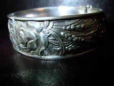 prächtiger breiter Bäuerlicher  Armreif 825 Silber